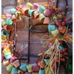 10 Unique, Creative Outdoor Fall Door Wreaths