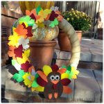 How to Make an Easy Felt Thanksgiving Wreath Decor