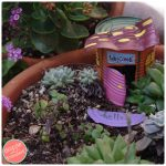 How To Turn a Tin Can Into a Fairy Garden House