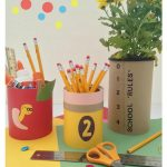 Quick and Easy Teacher Gifts Using Tin Cans