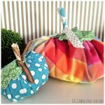 How to Make Cute Fall Fabric Scraps Pumpkins