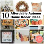 10 DIY Autumn Home Decor Ideas
