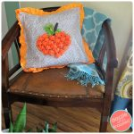 Make an Autumn Pillow Cover with Cute Fleece Pumpkin