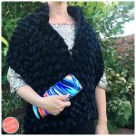 How To Make a Faux Fur Wrap with Fleece-Lining