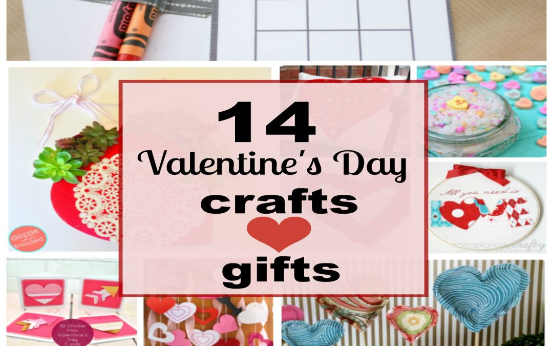 14 Lovely DIY Valentine's Day Crafts and Gifts Ideas