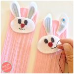 DIY Peter Cottontail Girls Knee High Socks for Easter