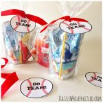 Home Run! Printable Baseball Tags For Game Day Snacks
