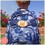 DIY 5 Minute Personalized School Backpack Tag