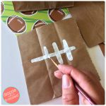 How to Make Cute Football Snack Bags for Tailgating Party