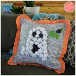 How To Make a Cute Ghost Halloween Pillow Cover
