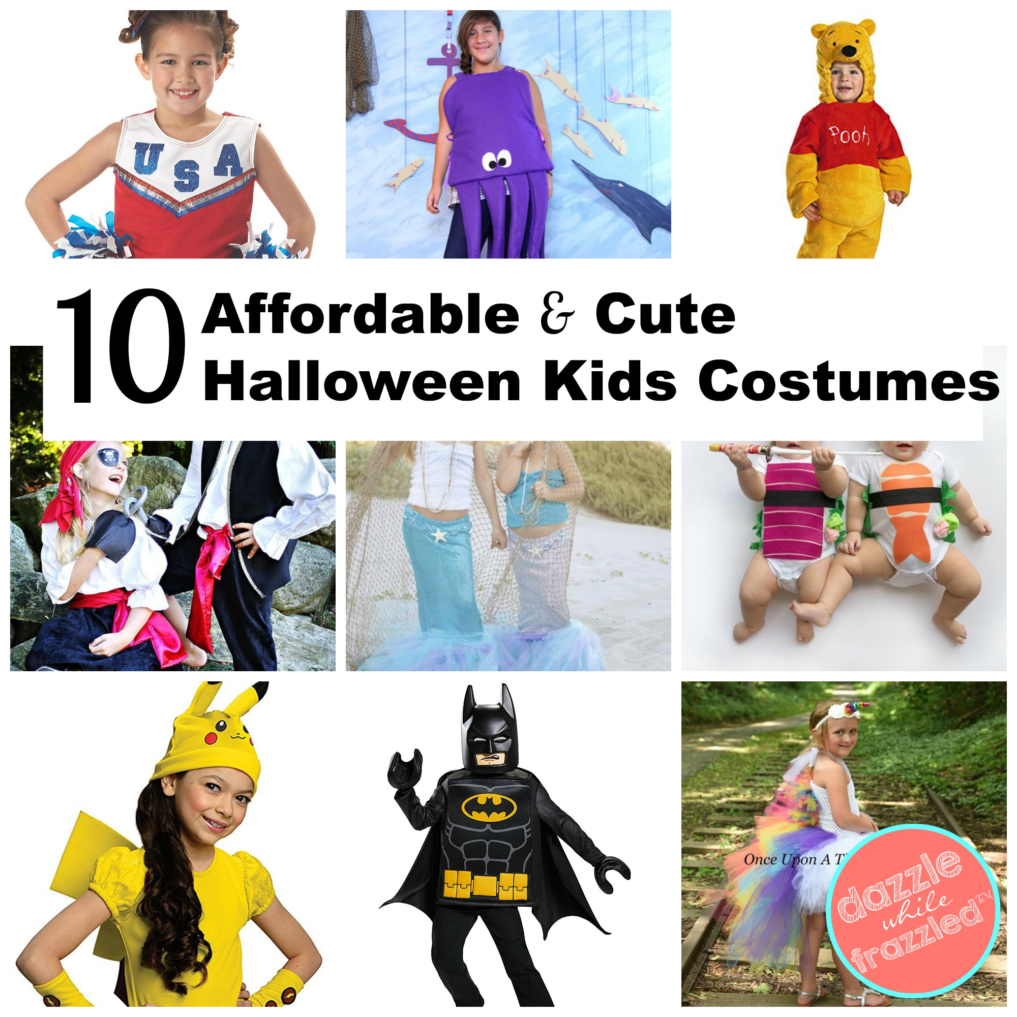 10 Last Minute And Cute Halloween Costumes For Kids Dazzle While Frazzled