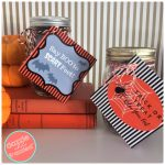 DIY Boo-ti-ful Halloween Pedicure Gift Idea + Printable Tags