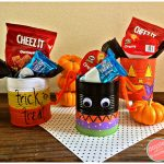 How to Make Spooky Cute Halloween Tin Can Treat Holders