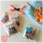 How to Make DIY Scented Drawers Photo Sachets