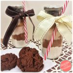 Milk and Cookie Mix in a Jar Fun Gift