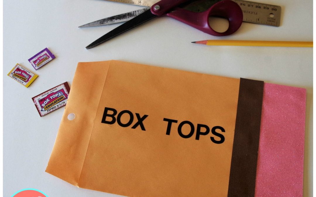 How To Make a 10-Minute Collection Envelope for Box Tops