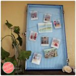 DIY Vintage Suitcase Wall Photo Display