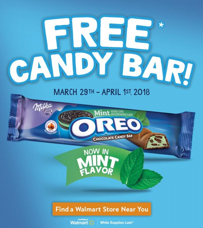 $1 OREO Mint Chocolate Candy Bars at Walmart