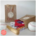 Baseball DIY Goodie Bags for Kids