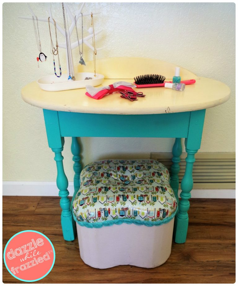 How To Make A Cute Girls Beauty Station Dazzle While Frazzled