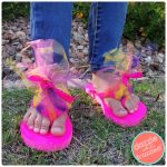Easy and Cute Troll Inspired Flip Flops