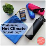 How To Make a Hot Climate Survival Drawstring Tote