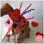 How to Make Love Volcano Valentine's Day Card Box