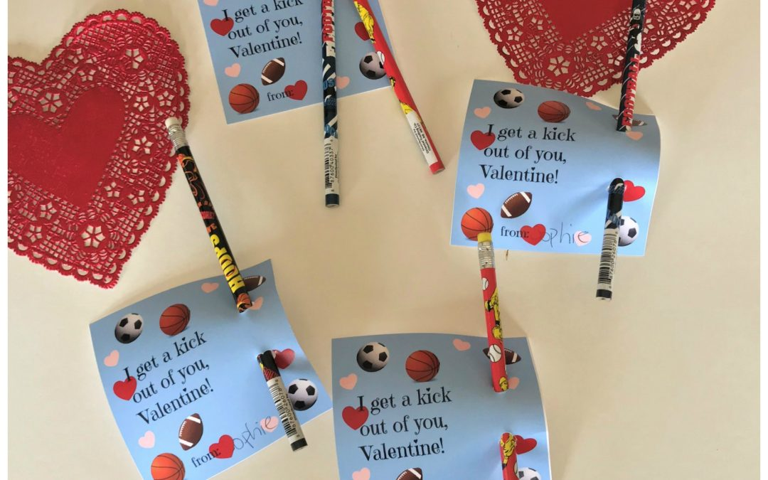 How to Make Fun Valentine's Day Sports Cards